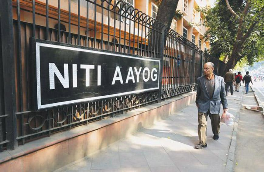 Niti Aayog's first steps