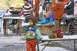 Child health sinks in slums