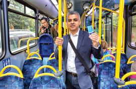 London's first Muslim mayor doesn't want to be typecast