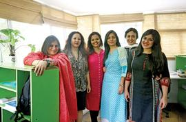 Vedica's MBA is smart, female and beyond profit
