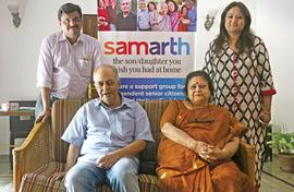 Elderly start-up by caring young entrepreneurs