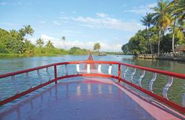 Tourism makes the people of Kumarakom smile