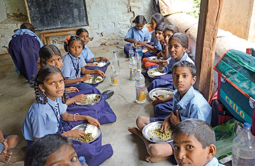It is possible for midday meal scheme to improve