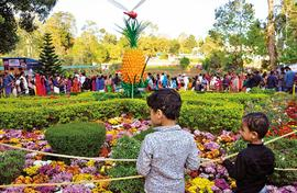 Wayanad has a flowers and a popular festival too!  ?