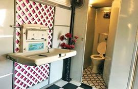 Old bus, new restroom! In Pune women get toilets