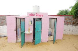 The story of toilets and schools