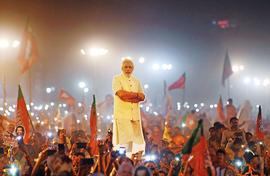 Poor put faith in powerful Modi