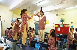 Enterprise syllabus livens up classrooms in Delhi
