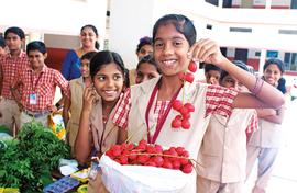 Kids get to grow and sell veggies in Kerala schools