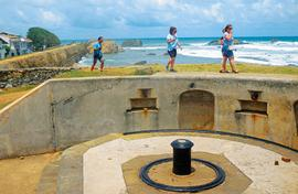 Galle's great for its colonial past