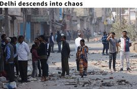 Delhi descends into chaos