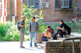 In JNU, a return to studies finally